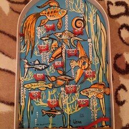 Развивающие игрушки - Настольный детский бильярд. СССР, 0