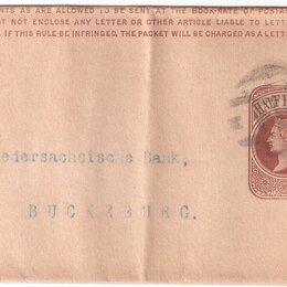 Конверты и почтовые карточки - Почтовый конверт Великобритания вторая половина XIX века Отличная сохранность!, 0