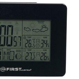 Метеостанции, термометры, барометры - Метеостанция FIRST 2461-BA , часы, будильник, комнатная/уличная температура, ..., 0