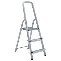 Лестницы и стремянки - Стремянка алюминиевая 3 ступени «Новая Высота», 0