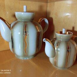 Посуда - Винтажный дуэт чайников из 70-х Полтавского фарфорового завода, 0