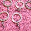 Кольца с крючками для трубочной гардины ( 30 шт.) по цене 200₽ - Карнизы и аксессуары для штор, фото 1