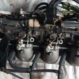 Двигатель и комплектующие  - Карбюраторы в сборе на лодочный моторYamaha F100ATL 67F , 0