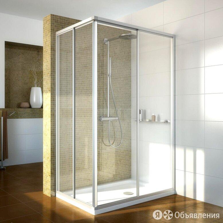 Душевой уголок GuteWetter Practic Rectan GK-422 правая 95x80 см стекло бесцве... по цене 40060₽ - Души и душевые кабины, фото 0