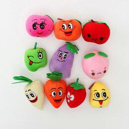 """Игровые наборы и фигурки - Комплект игрушек """"Овощи и Фрукты"""" (на пальцы не одеваются)., 0"""