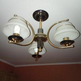 Люстры и потолочные светильники - Люстра трехрожковая, 0