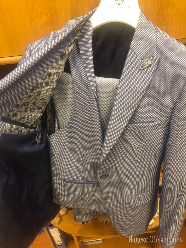 Костюм мужской голубого цвета по цене 5000₽ - Костюмы, фото 0