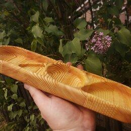 Декоративная посуда - Тарелка лодочка деревянная менажница, 0