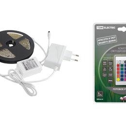 Светодиодные ленты - Комплект LED лентыSMD5050-30LED/м-12 В-7,2 Вт/м-IP65-RGB (3м), 18 Вт, IR-к..., 0