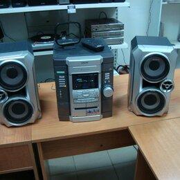 Музыкальные центры,  магнитофоны, магнитолы - Музыкальный центр Sony c пультом, 0