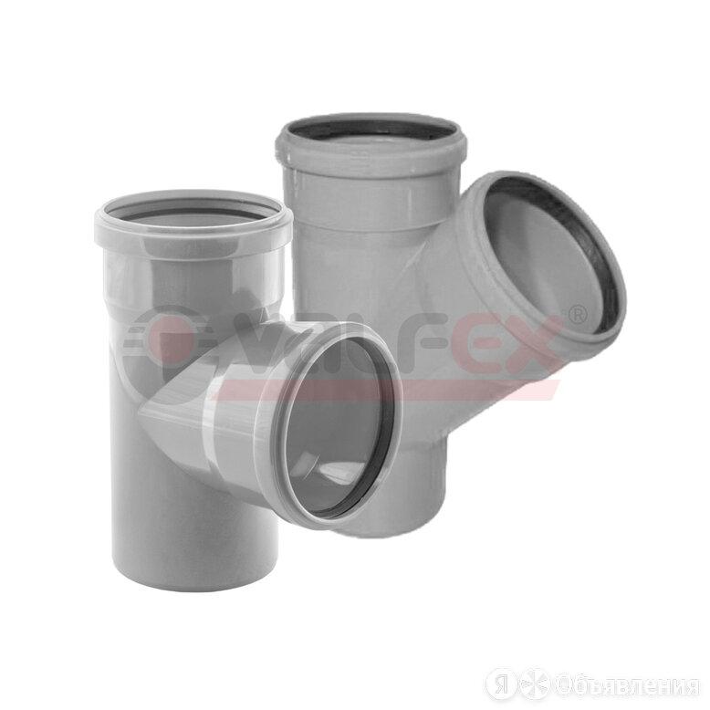 Тройник 45° 50-40 вн.канализ.(140/7) VALFEX арт. 22050040 по цене 35₽ - Септики, фото 0