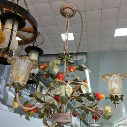 Люстры и потолочные светильники - Люстра подвесная с клубничкой, 0