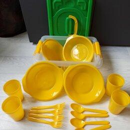 Наборы для пикника - Набор посуды для пикника на 4 персоны , 0