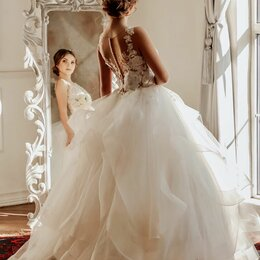Платья - Свадебное платье , 0