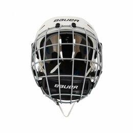 Спортивная защита - Шлем хоккейный игрока Bauer 5100 Helmet Combo II c маской белый (х1), 0