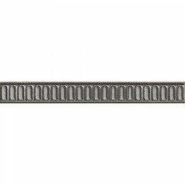 Заборчики, сетки и бордюрные ленты - бордюр moldura leonora plata-perla 3*25 41959, 0