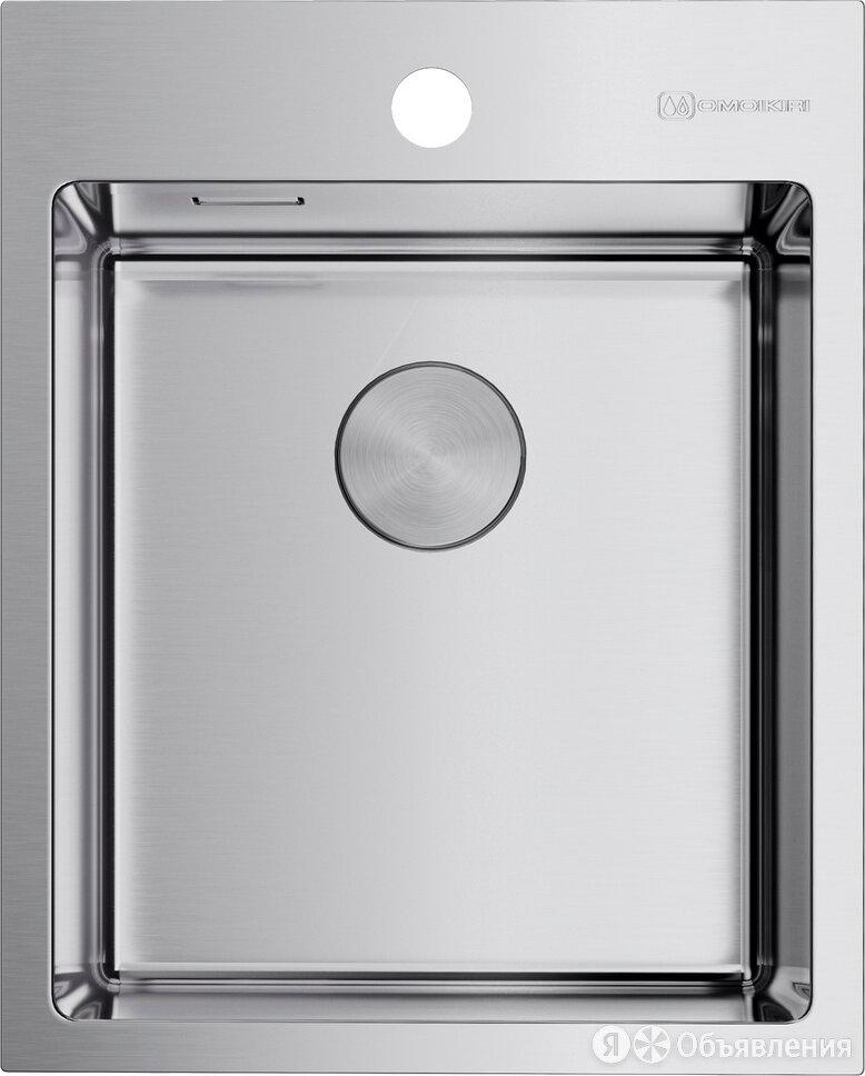 Мойка кухонная Omoikiri Akisame 41-IN 4973056 нержавеющая сталь по цене 31820₽ - Кухонные мойки, фото 0