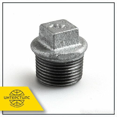 Заглушка чугунная КЧ50-5 Ду 32 по цене 30₽ - Запорная арматура, фото 0