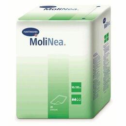 Постельное белье - Пеленки одноразовые впитывающие MoliNea 180*90 (20шт/уп), 0