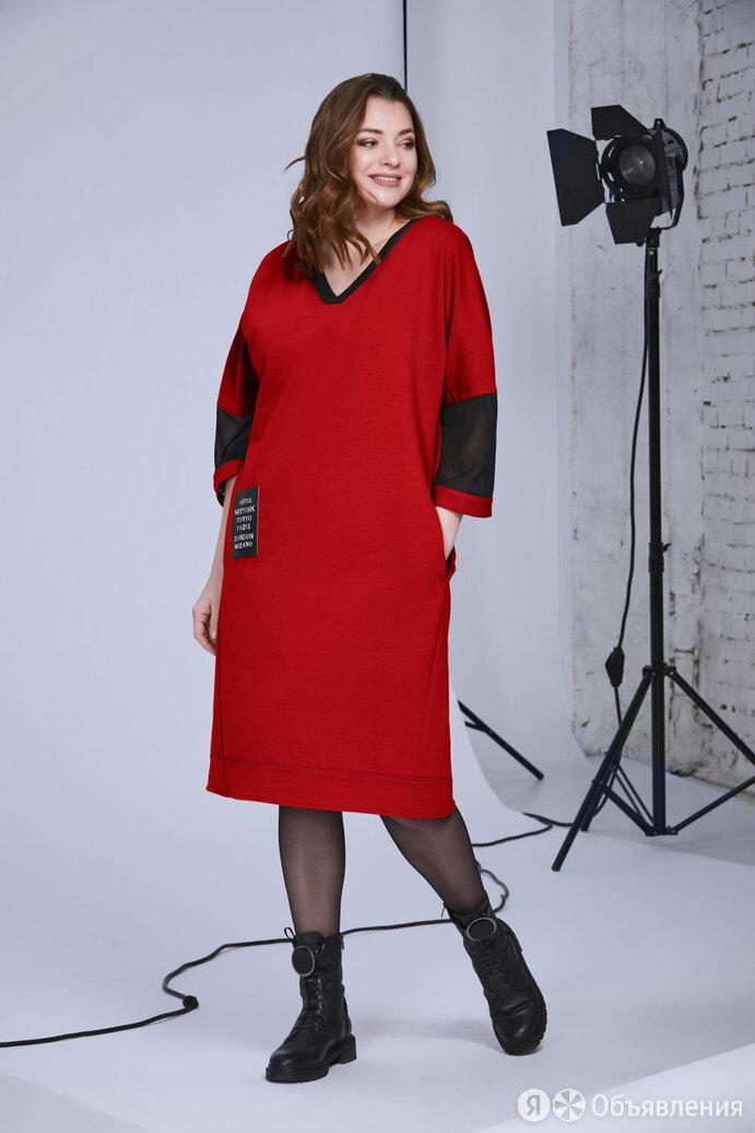 Платье 340 ANDREA STYLE красное Модель: 340 по цене 4368₽ - Платья, фото 0