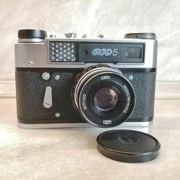 Пленочные фотоаппараты - Фотоаппарат ФЭД-5 с родным футляром, 0