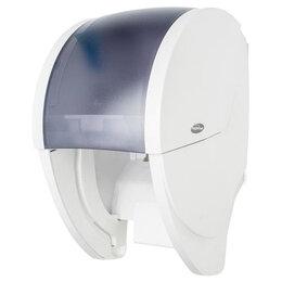 Туалетная бумага и полотенца - Держатель туалетной бумаги Hagleitner Луна 2.0 однорулонный, белый 4110400450, 0