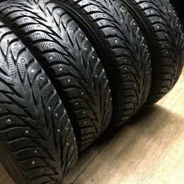 Шины, диски и комплектующие - Продам комплект зимних шипованных шин б/у 175/70R14 Yokohama , 0
