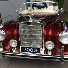 Электромобили - Mercedes-benz 300s электромобиль детский, 0
