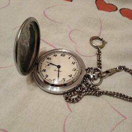Карманные часы - Часы карманные 18 камней., 0