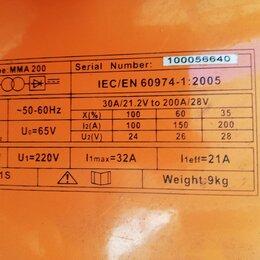 Сварочные аппараты - Сварочный аппарат prof helper. Описание по модели в инете. Вес 9 кг 220 v., 0