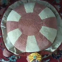Подушки - Круглая подушка своими руками мастер класс, 0