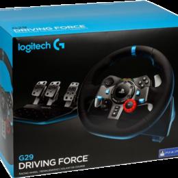Рули, джойстики, геймпады - PS4/PS3 Logitech G29 Driving Force, 0