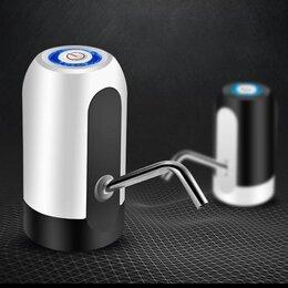 Кулеры для воды и питьевые фонтанчики - Электрическая помпа для воды  сенсорная аккумуляторная smart life, 0