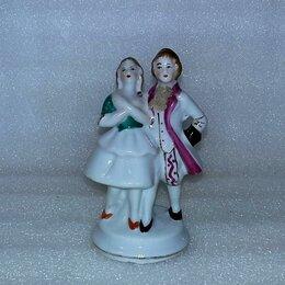 """Статуэтки и фигурки - Галантная пара """"Кавалер+ дама"""", бисквит, Nippon (?), 0"""