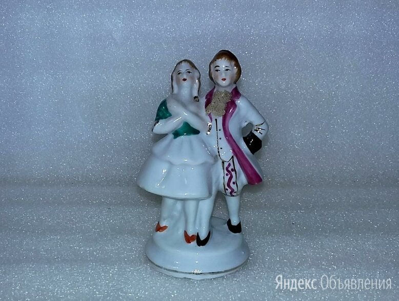 "Галантная пара ""Кавалер+ дама"", бисквит, Nippon (?) по цене 12000₽ - Статуэтки и фигурки, фото 0"