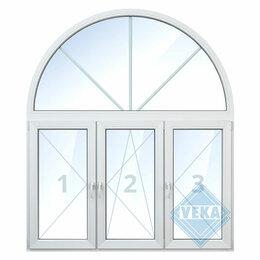Окна - Тройное окно с аркой, 0