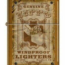 Пепельницы и зажигалки - Зажигалка Zippo 3385 Windproofs Toffee Finish, 0