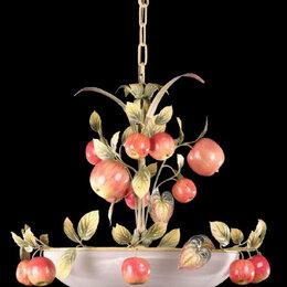 Люстры и потолочные светильники - Люстра подвесная с яблоками, 0