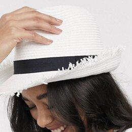 Головные уборы - Шляпа соломенная новая , 0