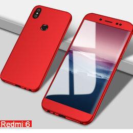 Чехлы - 360* REDMI-6 чехол новый+стекло, 0