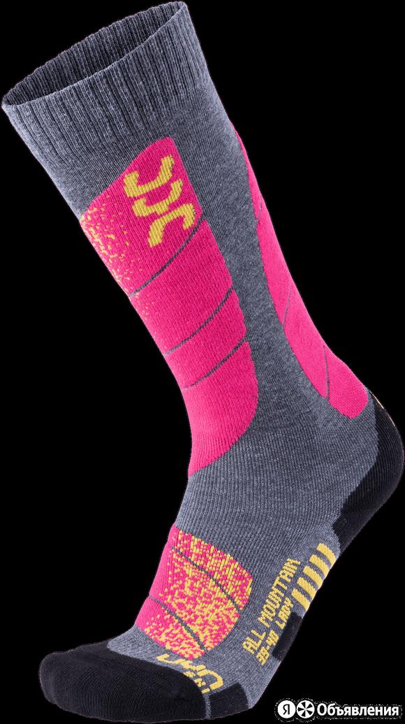 Носки UYN Ski All Mountain Medi Grey/Pink ж. по цене 1313₽ - Брюки, фото 0