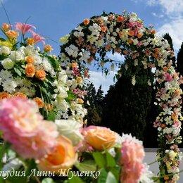 Украшения для организации праздников - Цветочная арка для свадьбы в Крыму. , 0