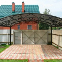 Архитектура, строительство и ремонт - Навесы из поликарбоната для машины в частном доме, 0