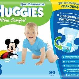 Подгузники - HUGGIES Ultra Comfort Подгузники 4 8-14 кг Мал, 0
