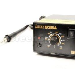 Электрические паяльники - Паяльная станция Lukey 936A, 0