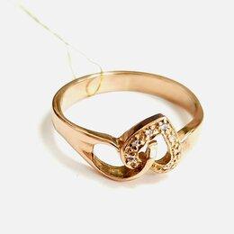 Кольца и перстни - Золотое кольцо 18,5 размер, 0