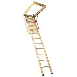 Лестницы и поручни - Чердачная лестница Comfort 70х120х300 см, 0