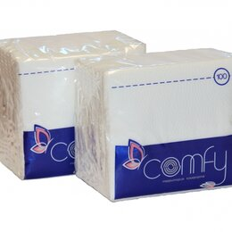 Бумажные салфетки, носовые платки - COMFY Салфетки COMFY 50 шт/уп, 0