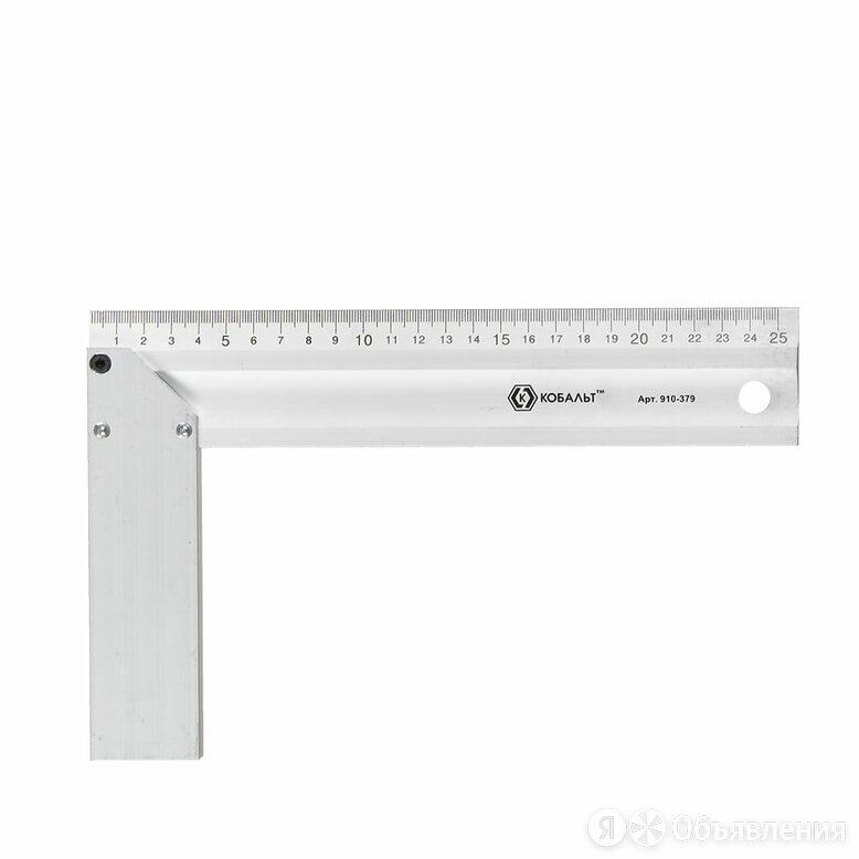 Столярный угольник КОБАЛЬТ 910-379 по цене 810₽ - Измерительные инструменты и приборы, фото 0