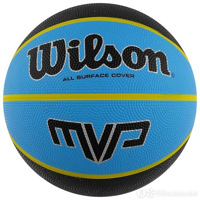 Мяч баскетбольный WILSON MVP, арт.WTB9019XB07, размер 7, резина, бутиловая ка... по цене 1834₽ - Принадлежности и запчасти для станков, фото 0